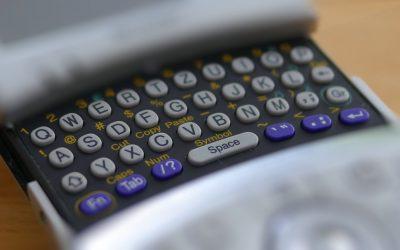 Tastatur für dicke Daumen